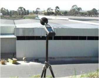 Monitoramento de ruido ambiental